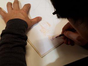 Chiaki OKADA en dédicace @Journal du Japon