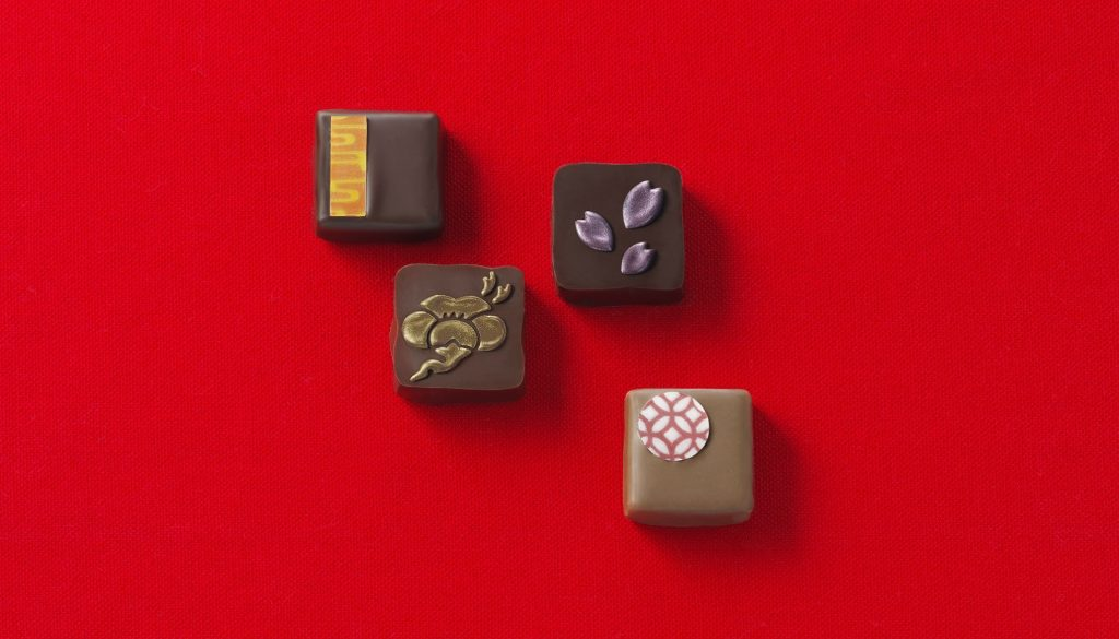 Créations de Shigeyuki OISHI pour Tokyo chocolate ©Tokyo chocolate