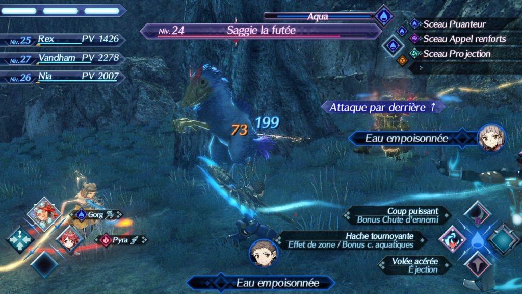 """Combat pour un """"named"""" - Xenoblade Chronicles 2 - Nintendo©"""