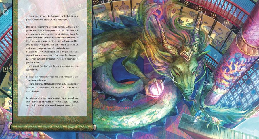 Ryûjin, Kami Dragon, Grand-Maître-de-l'Océan dans Urashima Tarô au royaume des saisons perdues [nobi nobi]