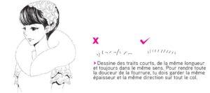 extrait de Je dessine l'univers Shôjo - dessiner la fourrure