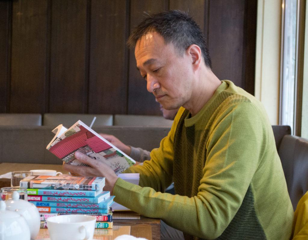Seiho TAKIZAWA - Crédit photo : Cheng Yu-Fen pour ©journaldujapon - Tous droits réservés