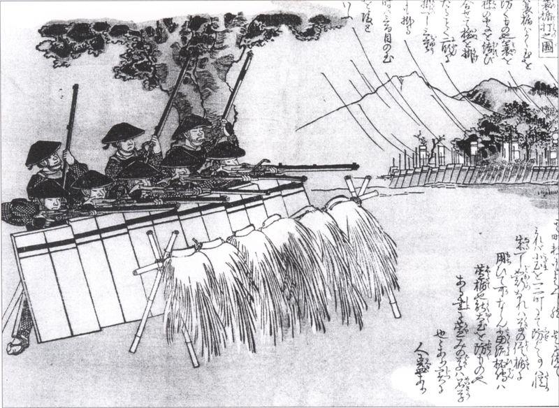 L'utilisation des armes à feu durant la période Sengoku