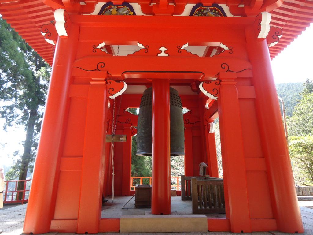 Le mont Hiei regorge d'édifices religieux.