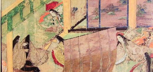 Illustration du Genji Monogatari