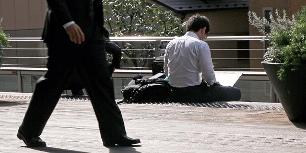 salaryman au japon