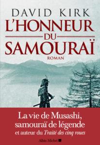 L'honneur du samouraï de David Kirk - couverture