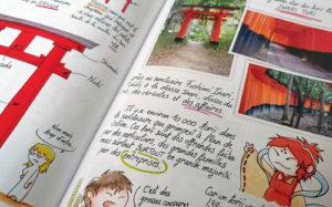 pages sur le Torii