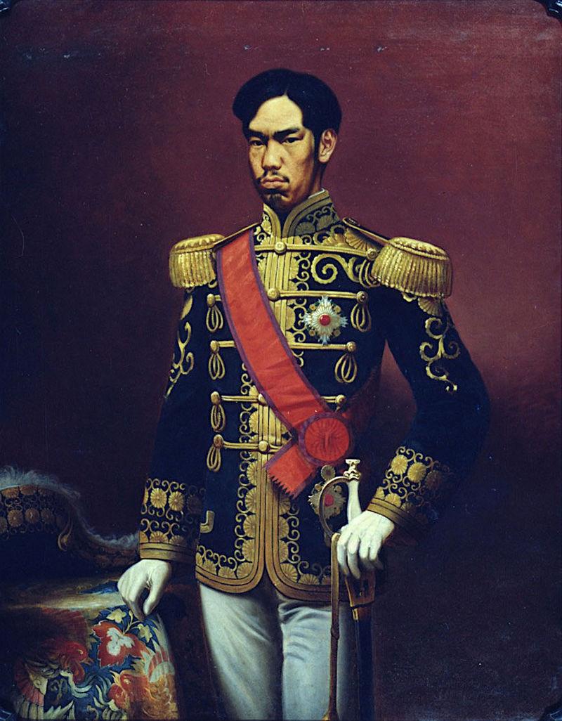 Portrait de l'Empereur Meiji