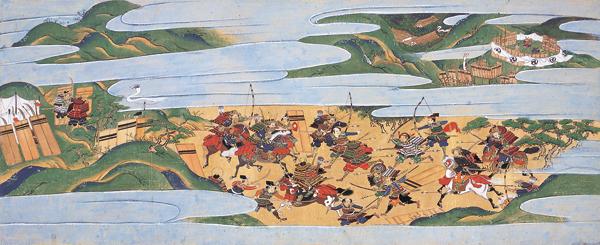 Représentation de la guerre d'Ônin