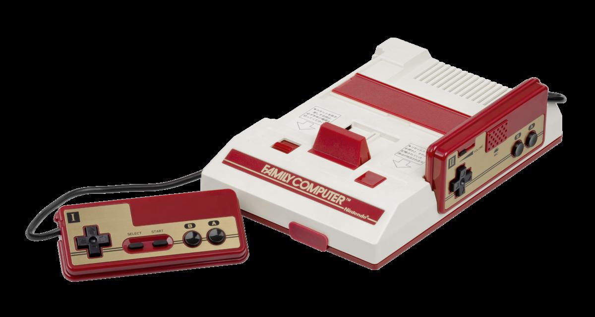 Console Famicom - Nintendo ®1983