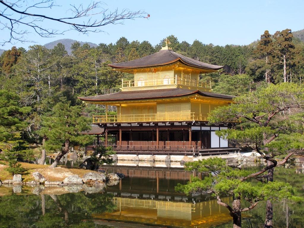 Le pavillon d'or de nos jours
