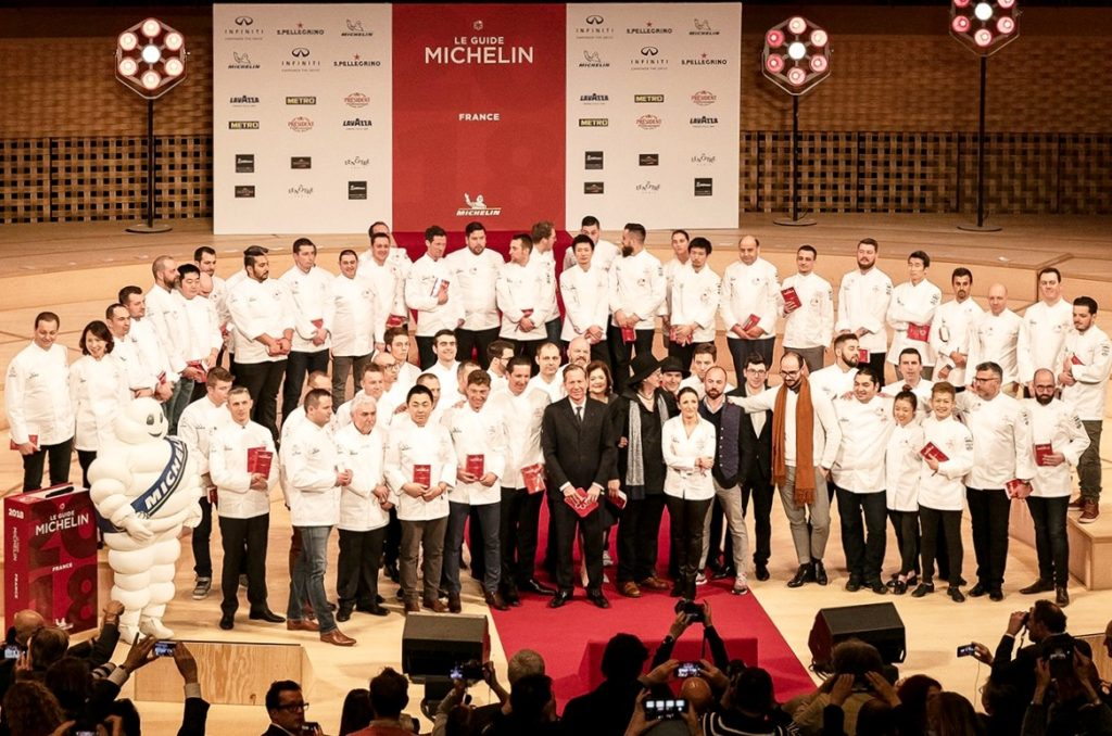 Palmarès de l'édition 2018 du Guide Michelin