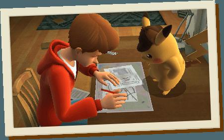 Menez l'enquête avec Pikachu !