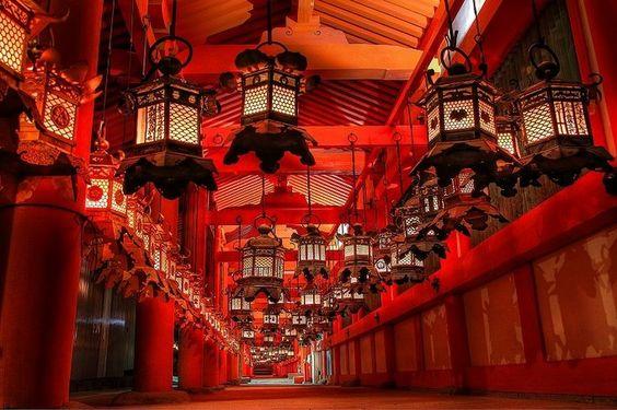 Kasuga Taisha, le sanctuaire aux mille lanternes à Nara