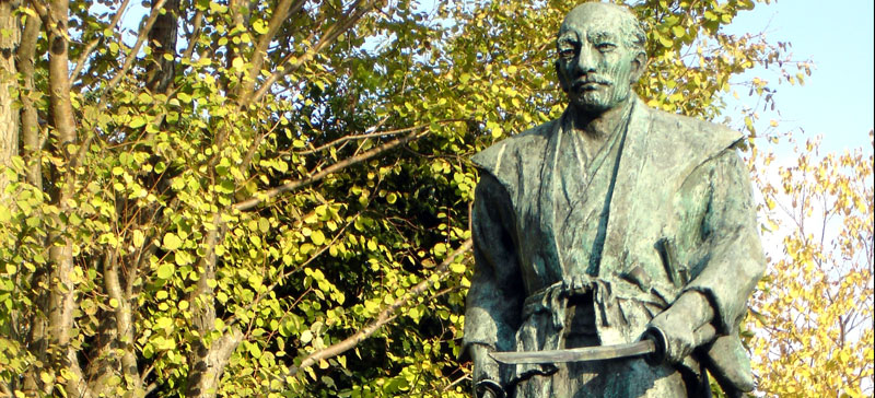 Statue de Miyamoto Musashi à Kumamoto