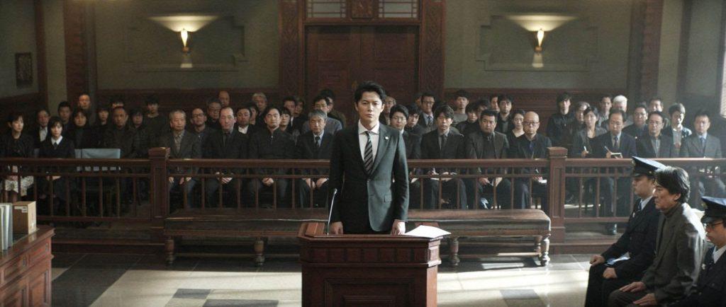 Shigemori, l'avocat, en pleine audience ©Toho