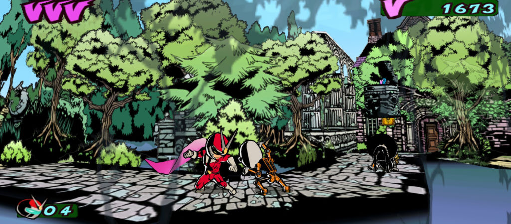 Viewtiful-joe Screen
