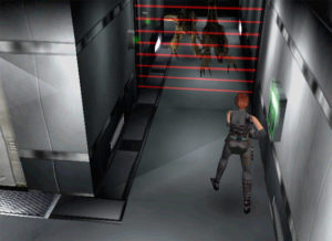 Capture d'écran de Dino Crisis.