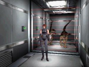 Capture d'écran de Dino Crisis