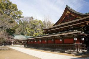 Le sanctuaire Kitano, à Kyôto