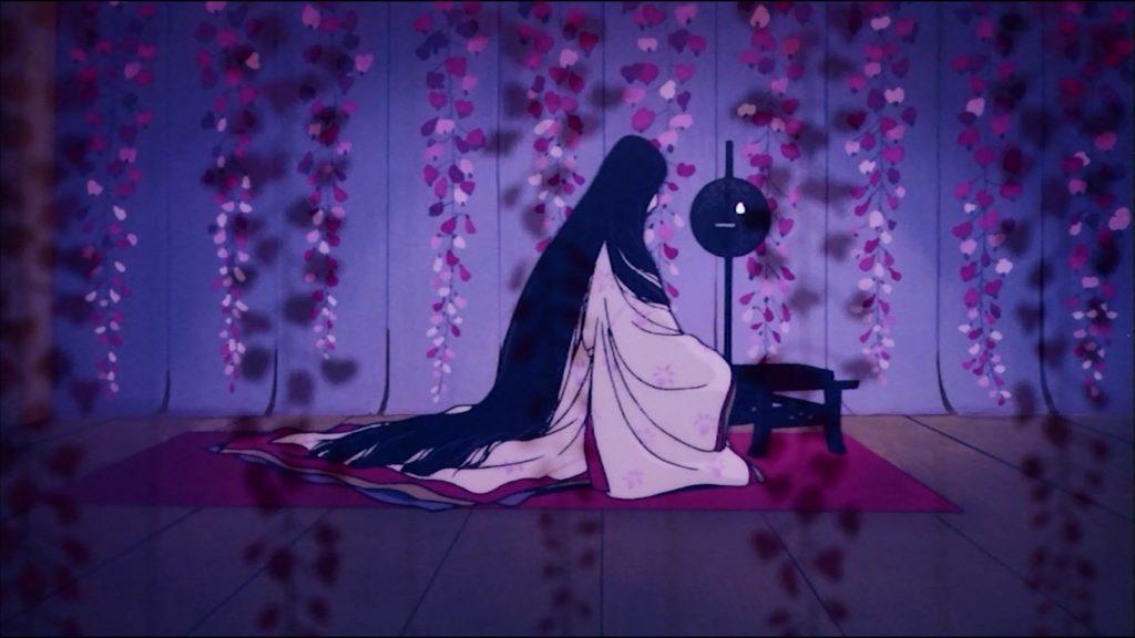 La chambre aux Glycines de Dame Fujitsubo