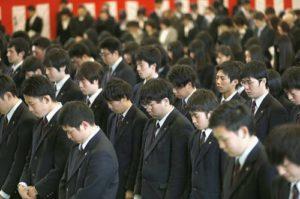 hiérarchie japonaise et effort collectif