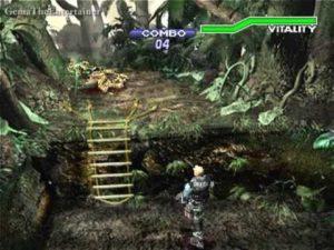 Capture d'écran de Dino Crisis 2.
