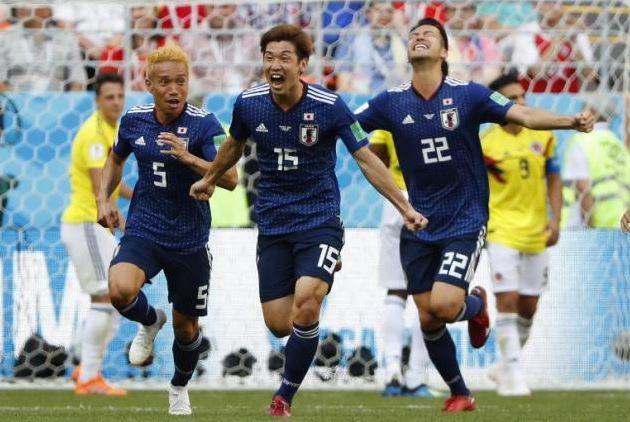 Japon Colombie but Osako
