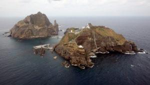 îles takeshima japon corée