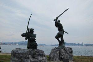 Myamoto Mushashi  Ganryū-jima