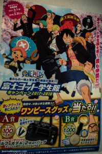 Campagne promo One Piece