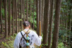 Yamabushi sur le chemin de Kumano