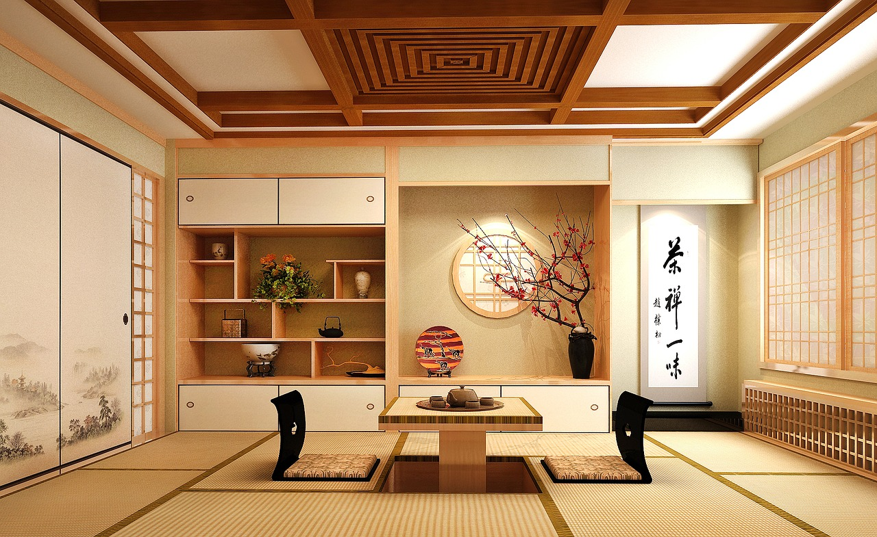 transformer sa chambre en chambre traditionnelle japonaise. Black Bedroom Furniture Sets. Home Design Ideas
