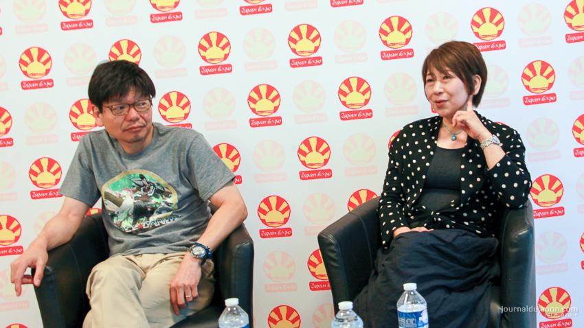 Masahiko MINAMI et Keiko NOBUMOTO