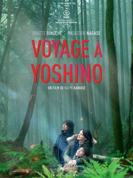 Voyage à Yoshino affiche