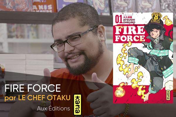 Fire Force Manga du mois