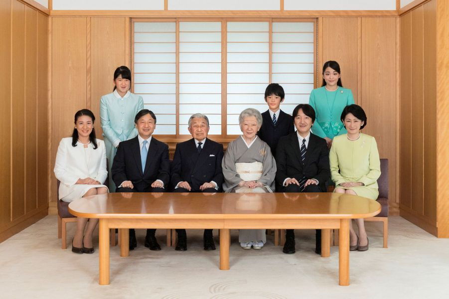 Photo officielle de la famille impériale du Japon - novembre 2017