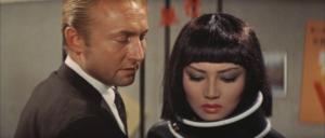 Nick ADAMS et Kumi MIZUNO dans Invasion Planete X (1965)