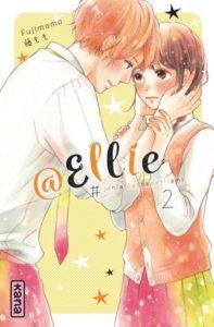 Couverture du tome 2 de @Ellie je n'ai pas de petit ami chez Kana