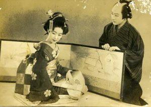 Kinuyo TANAKA et Kazuo HASEGAWA