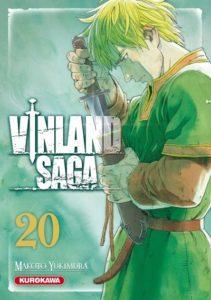 Couverture du tome 20 de Vinland Saga chez Kurokawa