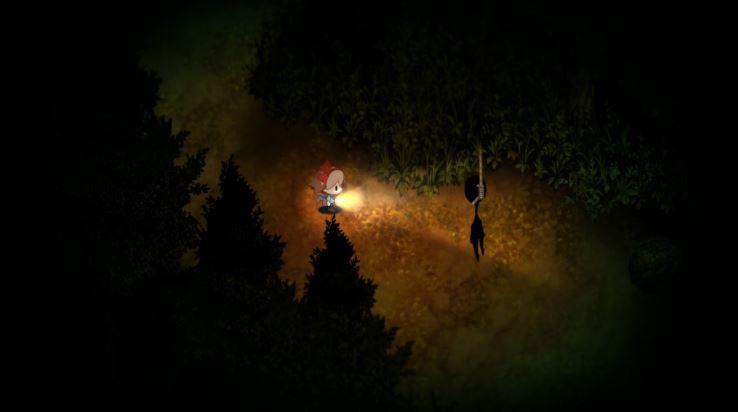 Yomawari Night Alone esprit pendu