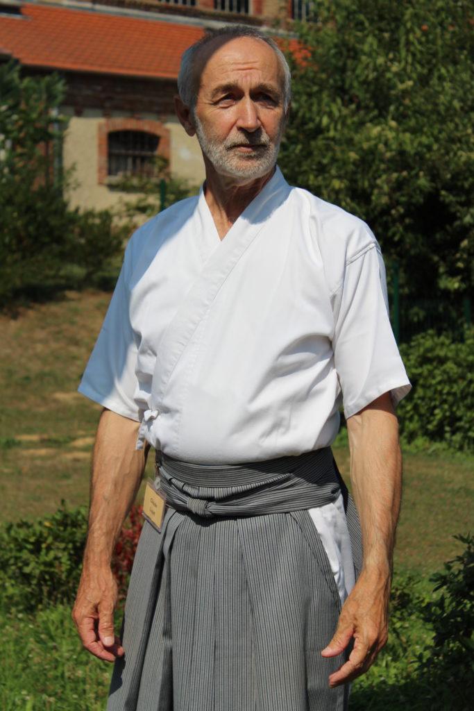 Claude Luzet, kyudojo de Noisiel