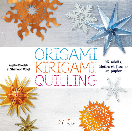 origami, kirigami, quilling : couverture