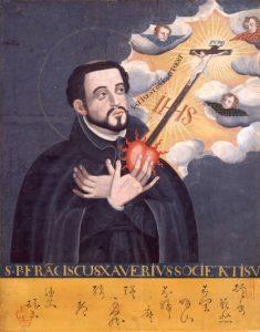 Portrait de saint François Xavier