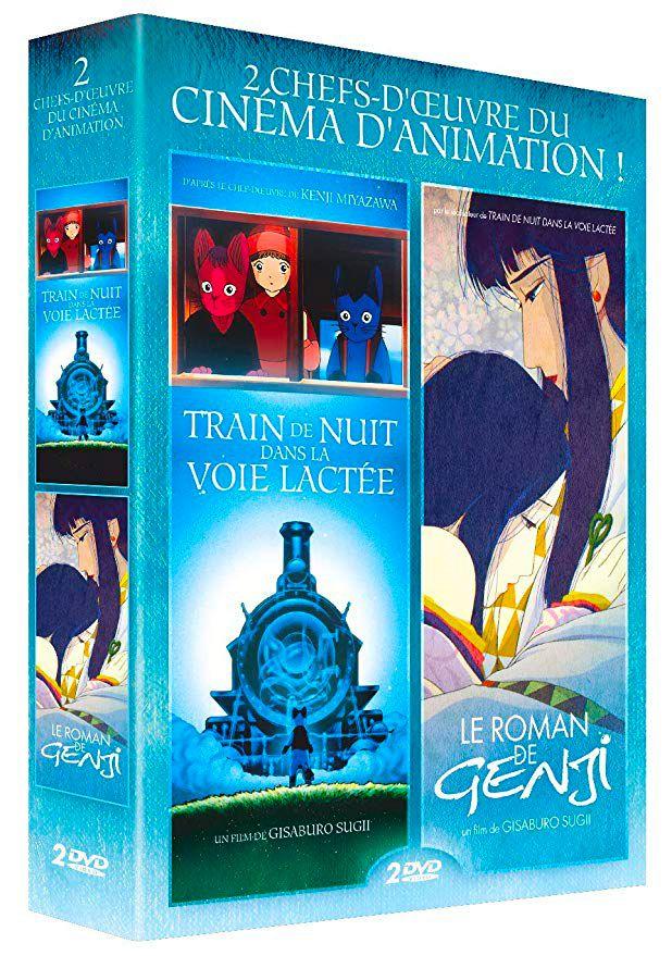 Train de nuit dans la voie lactée - Le roman de Genji BR