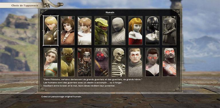 Création d'avatar Soul Calibur VI