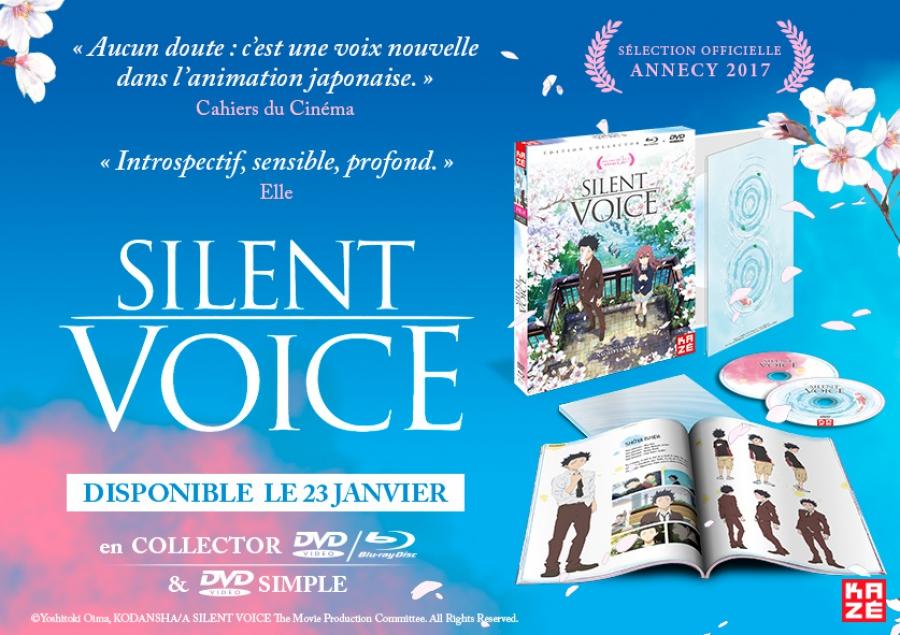 anime - A Silent Voice - Combo Collector A Silent Voice - Combo Collector