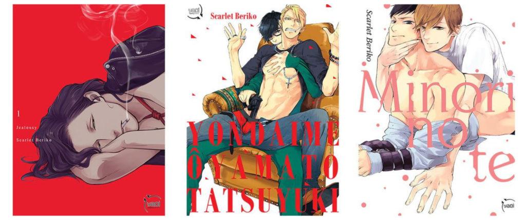 Scarlet BERIKO - Jealousy, Yondaime Ôyamato Tatsuyuki et Minori no Te.